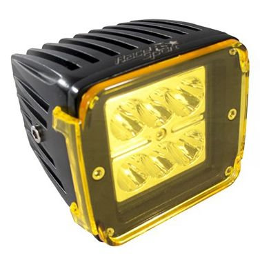 Race Sport Cube Spot Light With Amber Cover RS-HD-SR10