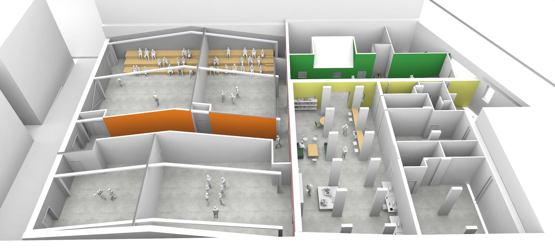 Ecole de théâtre 900m²
