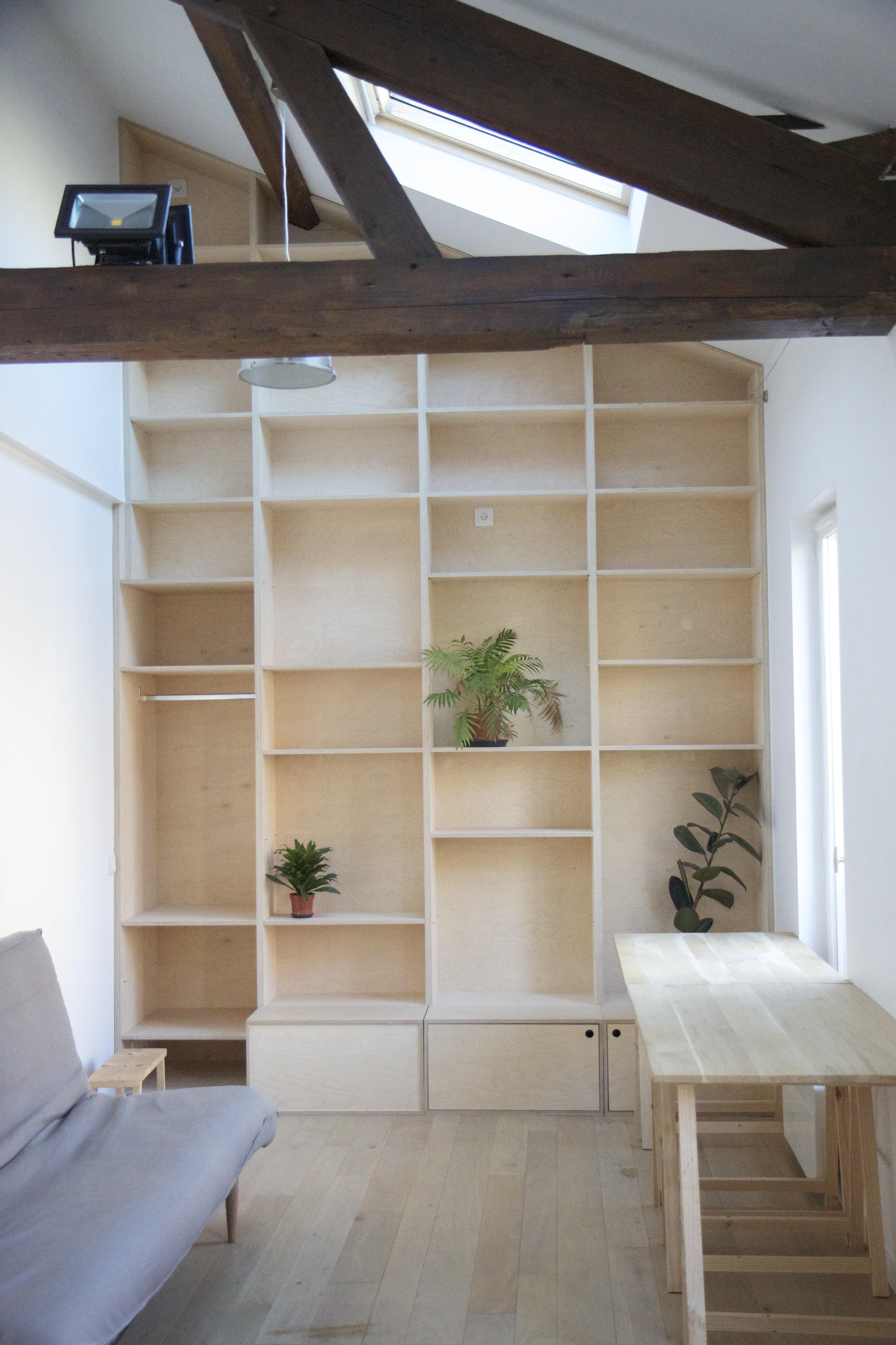 Studio 23m²