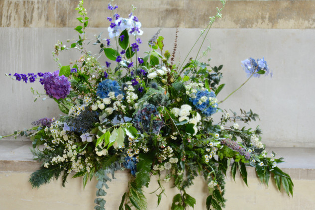 Hedgerow Style Floral Arrangement