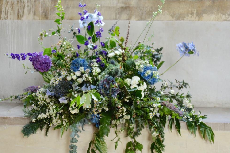 Hedgerow Style Floral Arrangement