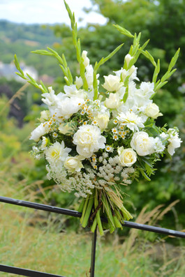 Funeral Tribute Sheaf of Flowers