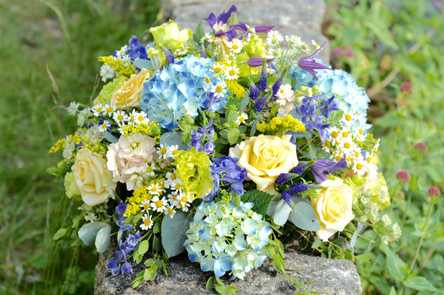 Funeral Tribute Posy Pad