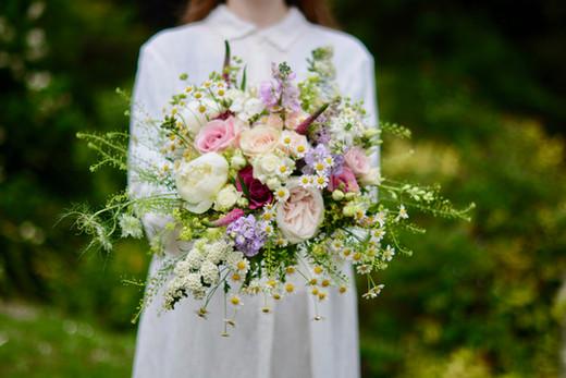 Rich Textured Bridal Bouquet