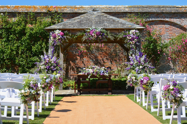 Outdoor Ceremony Aisle