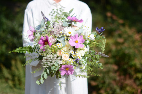 Textured Wild Bridal Bouquet