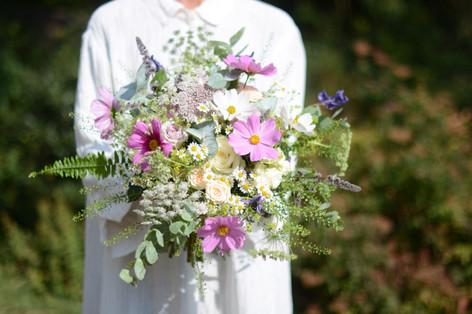 Textured Wild Bridal Bouquet