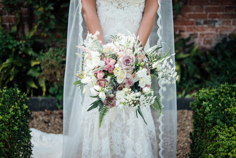 Devon Lace Bridal Bouquet