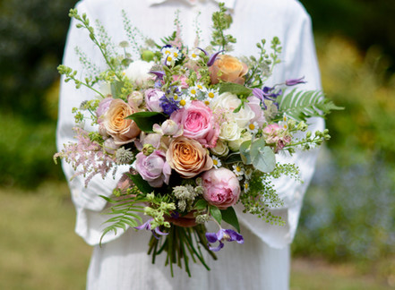 Rich Textured Bridal Bouquet