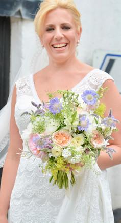 Mixed Pastel Bridal Bouquet