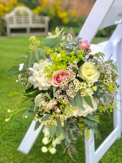 Aisle Pew Flowers