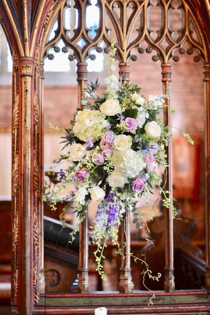 Floral Arrangement for Rood Screen