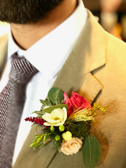 Gents Autumn Buttonhole