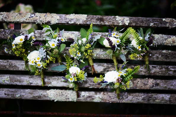 Woodland Herb Buttonholes