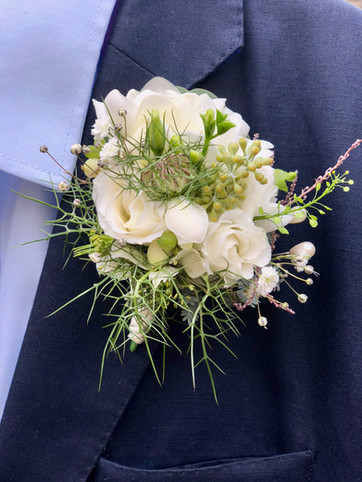 Ivory Corsage