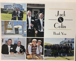 Thank you from Jack & Colin