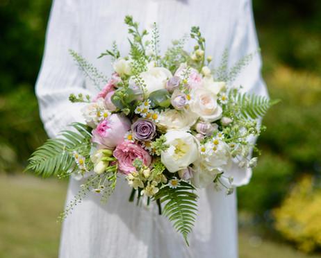Cottage Garden Bridal Bouquet