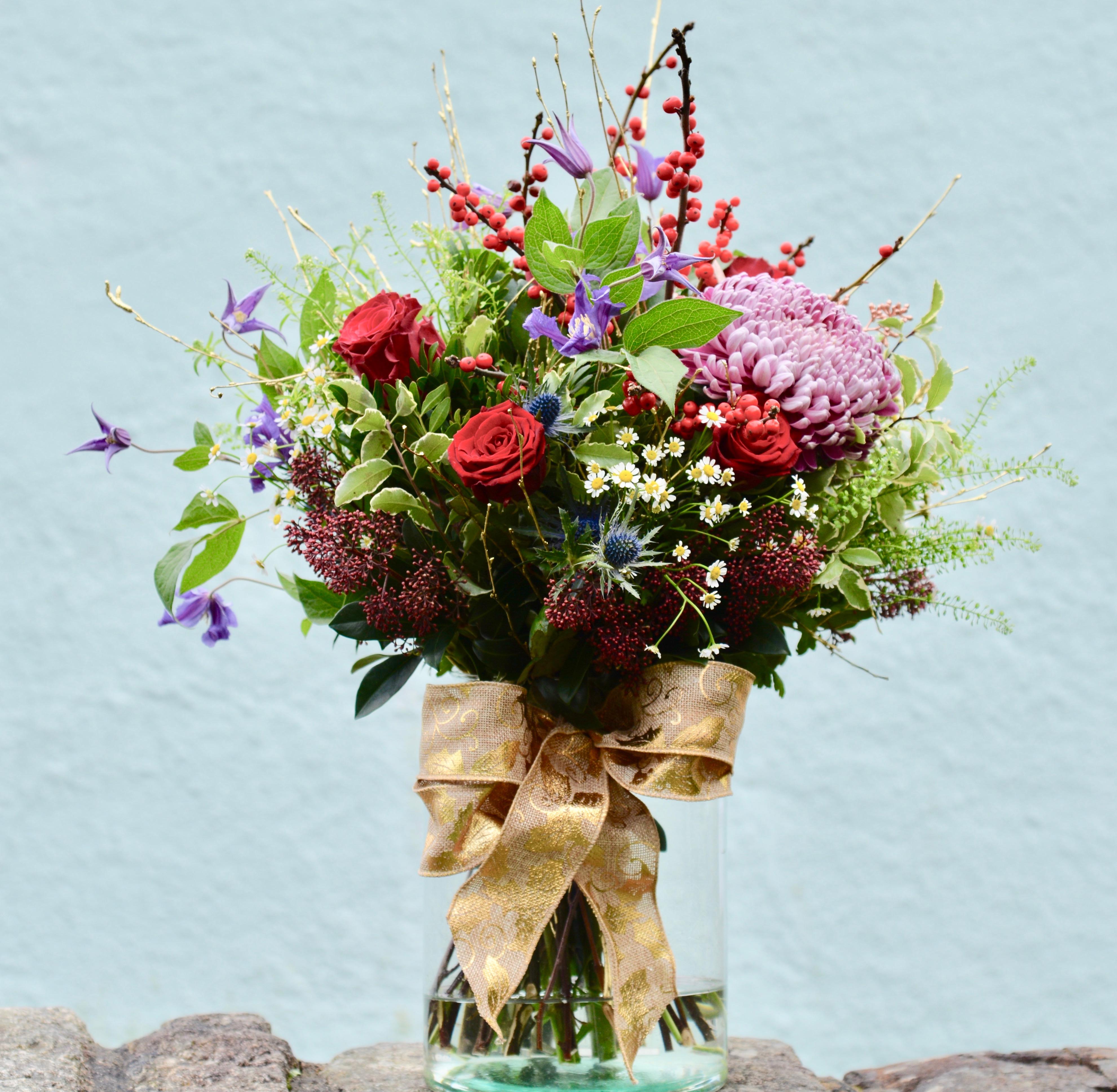 Totnes Christmas Bouquet
