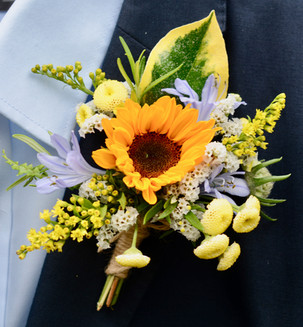 Sunflower Buttonhole