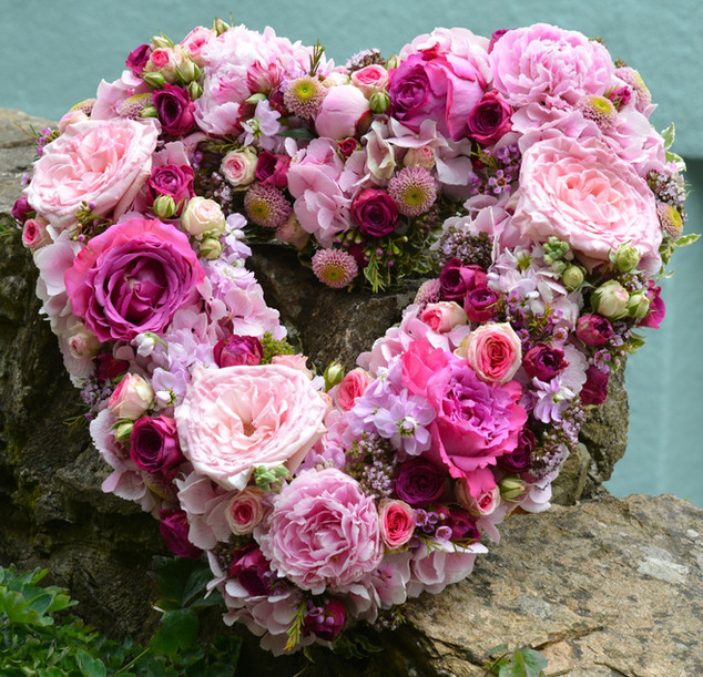 Love Heart of Flowers