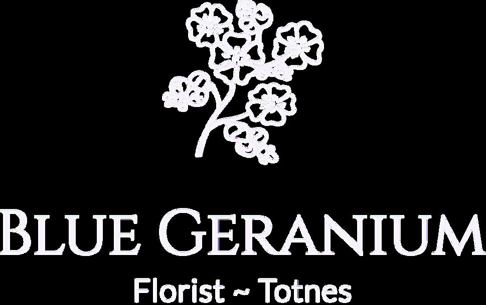 Blue Geranium Florist Totnes logo