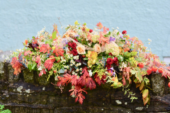 Autumnal Coffin Spray
