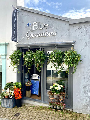 Blue Geranium Florist