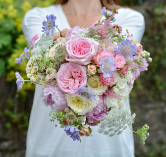 Mixed Pastel Bridal Bouquet