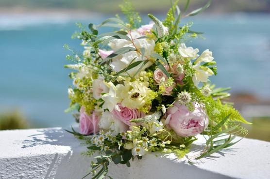 Soft Pastel Bridal Bouquet