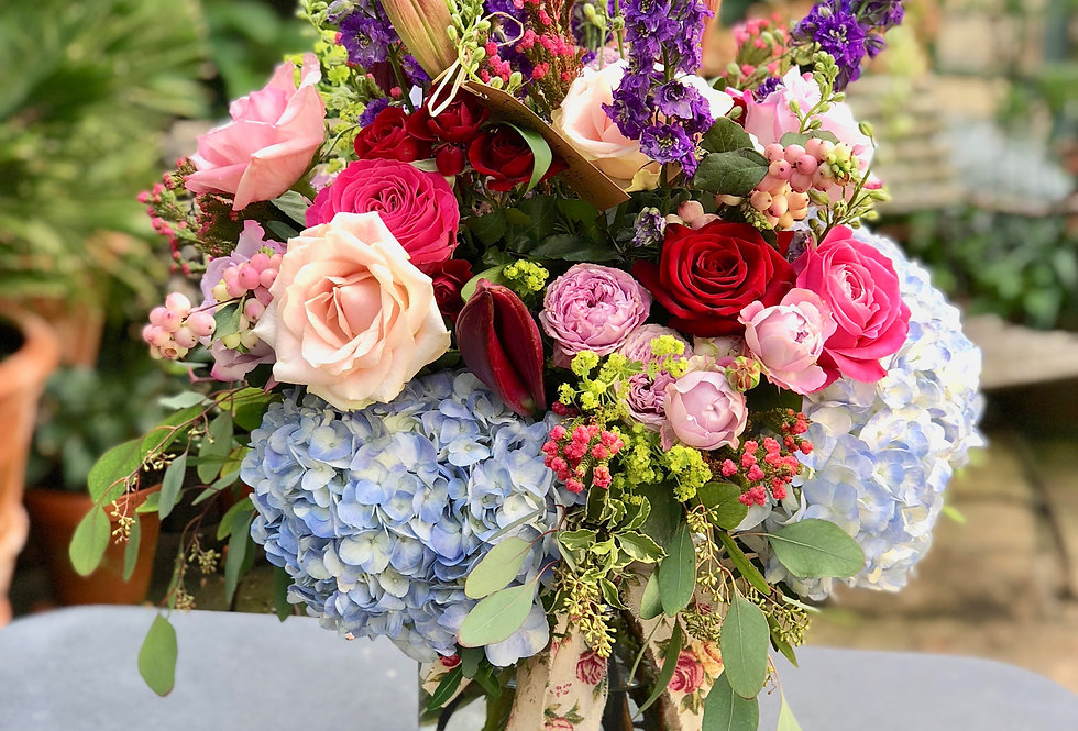 The Berry Pomeroy Bouquet