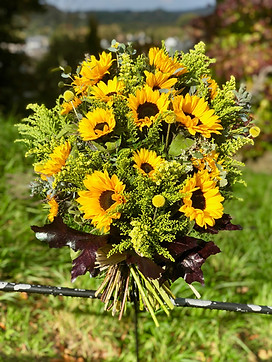 Sunflowers Tribute Sheaf