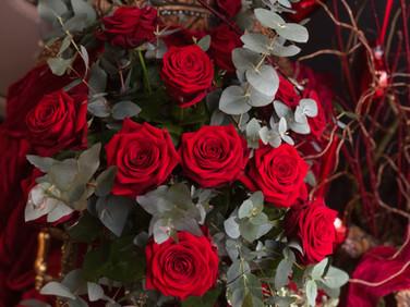 Red Rose Valentine Bouquet