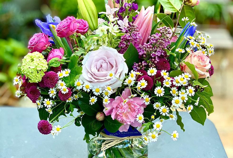 The Puddavine Bouquet - incl. discount medium vase