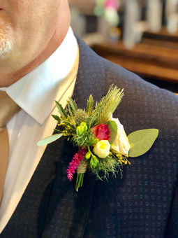 Autumn Buttonhole