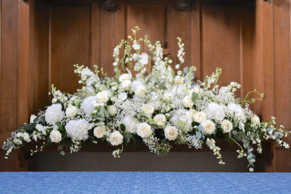 Church Alter Flower Arrangement