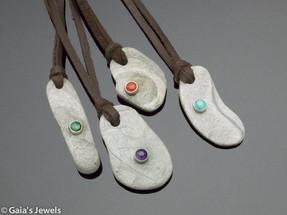 Merlin Stone Talisman Necklaces