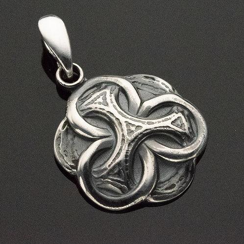 Celtic Knot Sterling Silver Pendant