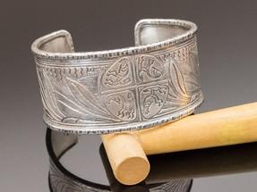 Harvest Sterling Silver Cuff Bracelet