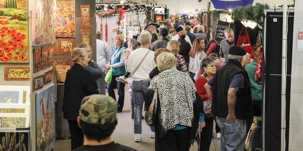 20th Annual Holiday Show Day 1 - Rio Grande Arts and Crafts Festivals