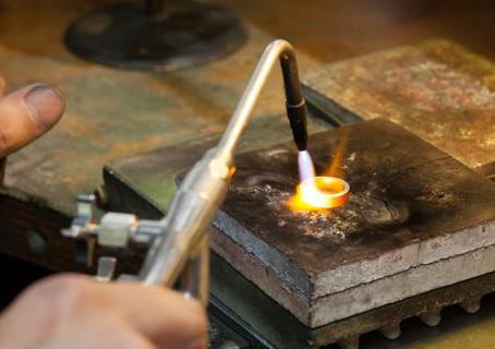 Torch Fuel & Gas Temperature Chart