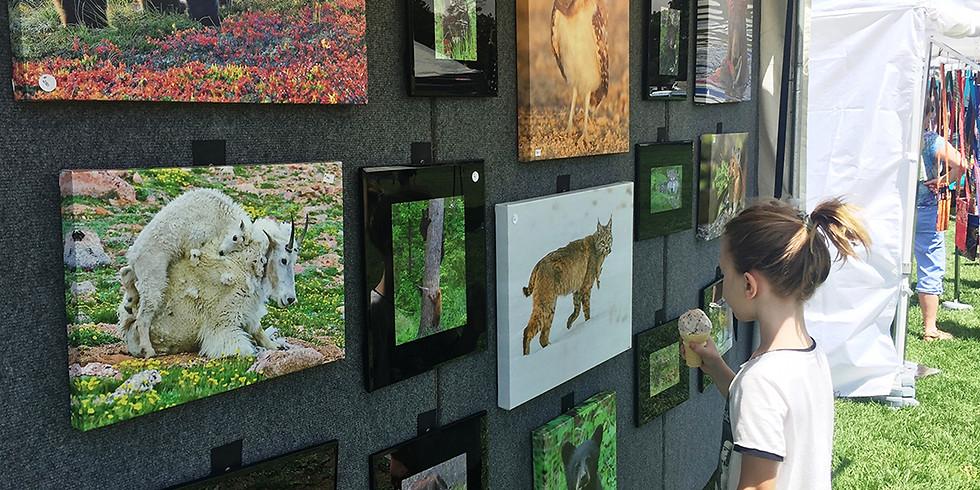 Foothills Fine Arts Festival in Golden, CO - Day 1