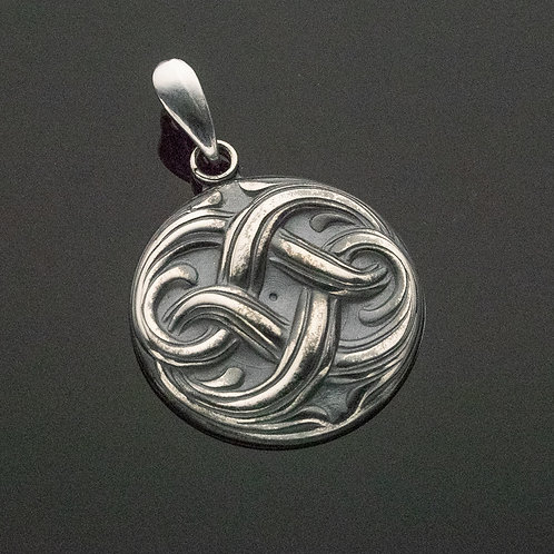 Sailor's Knot Sterling Silver Pendant