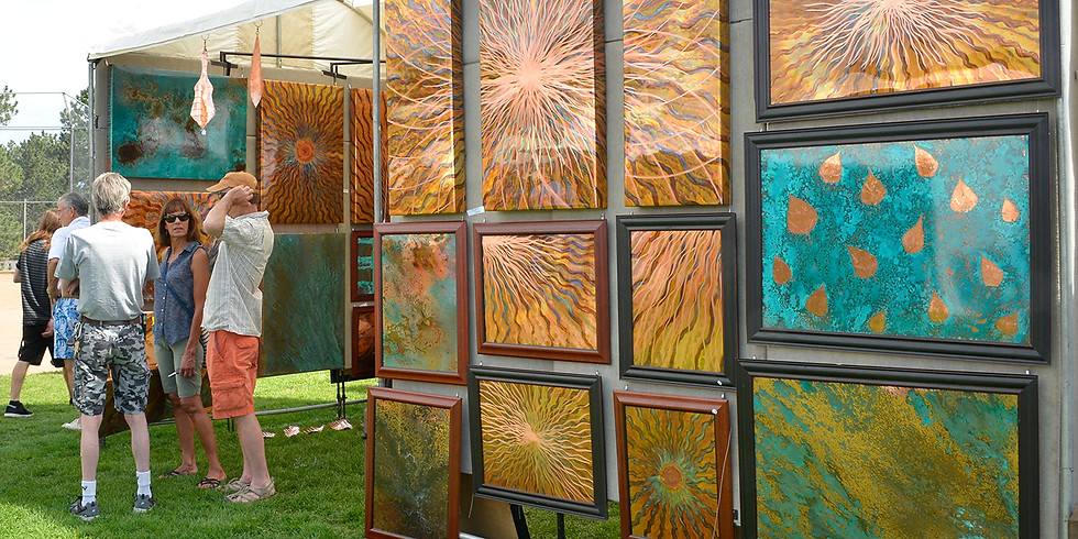 Foothills Fine Arts Festival in Golden, CO - Day 2