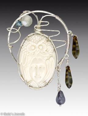 Spirit Owl Pendant