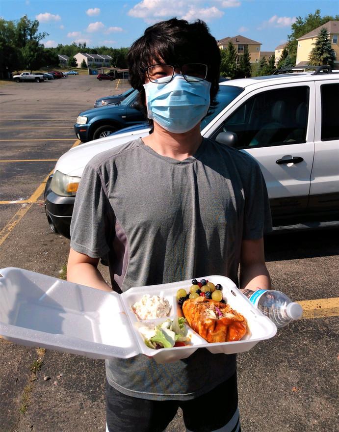 Broncos Kitchen BBQ Chicken Dinner 7-6-2