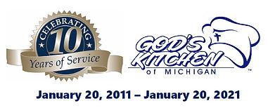 God's Kitchen of Michigan 10 Year Annive