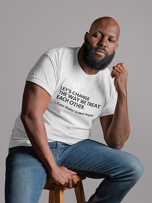 Uplift Each Other - Mens Tee