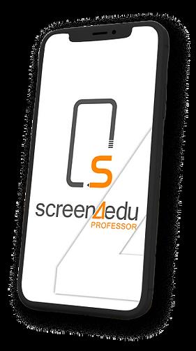 Screen4Edu App Professor