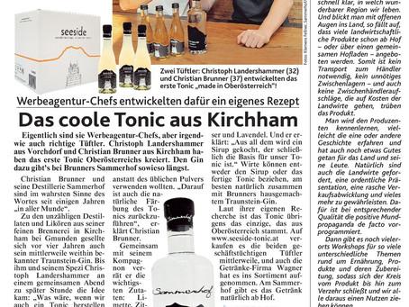 Bericht in der Kronen Zeitung