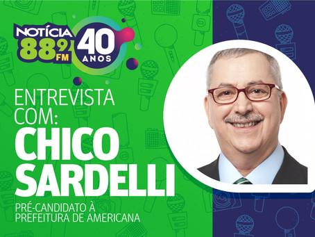 Chico Sardelli faz um apelo à população: é preciso cada um fazer sua parte no combate ao Coronavírus